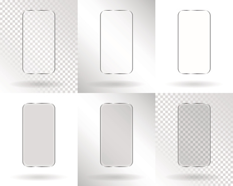 Frames in the form of a smartphone