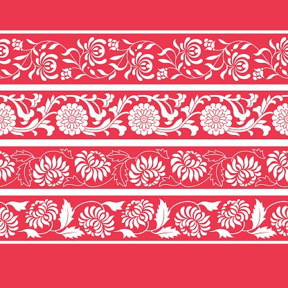 Frames of Chinese Style(Chrysanthemum)