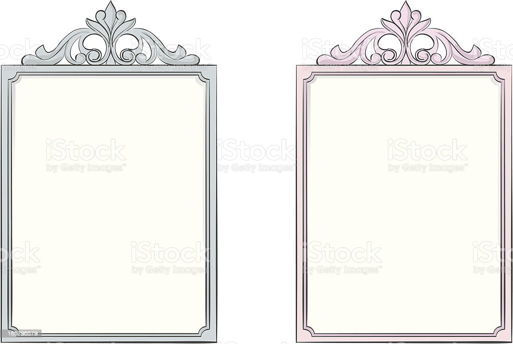 Frames vector art illustration