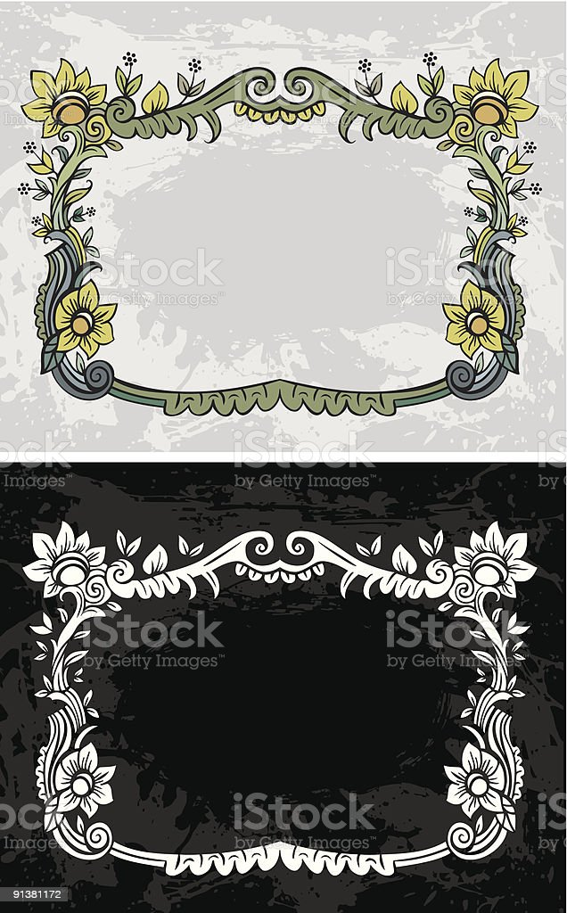 Frames royalty-free frames stock vector art & more images of art