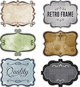 Set of frames with vintage, grunge and paper texture backgrounds.  EPS10 file contains transparencies. Hi res jpeg included, and global colors used.  http://www.myimagelinks.com/M-Lightboxes/Frames_files/shapeimage_2.png