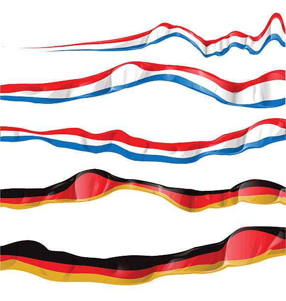 ilustrações, clipart, desenhos animados e ícones de a frança e a alemanha bandeira definida - bandeira da frança
