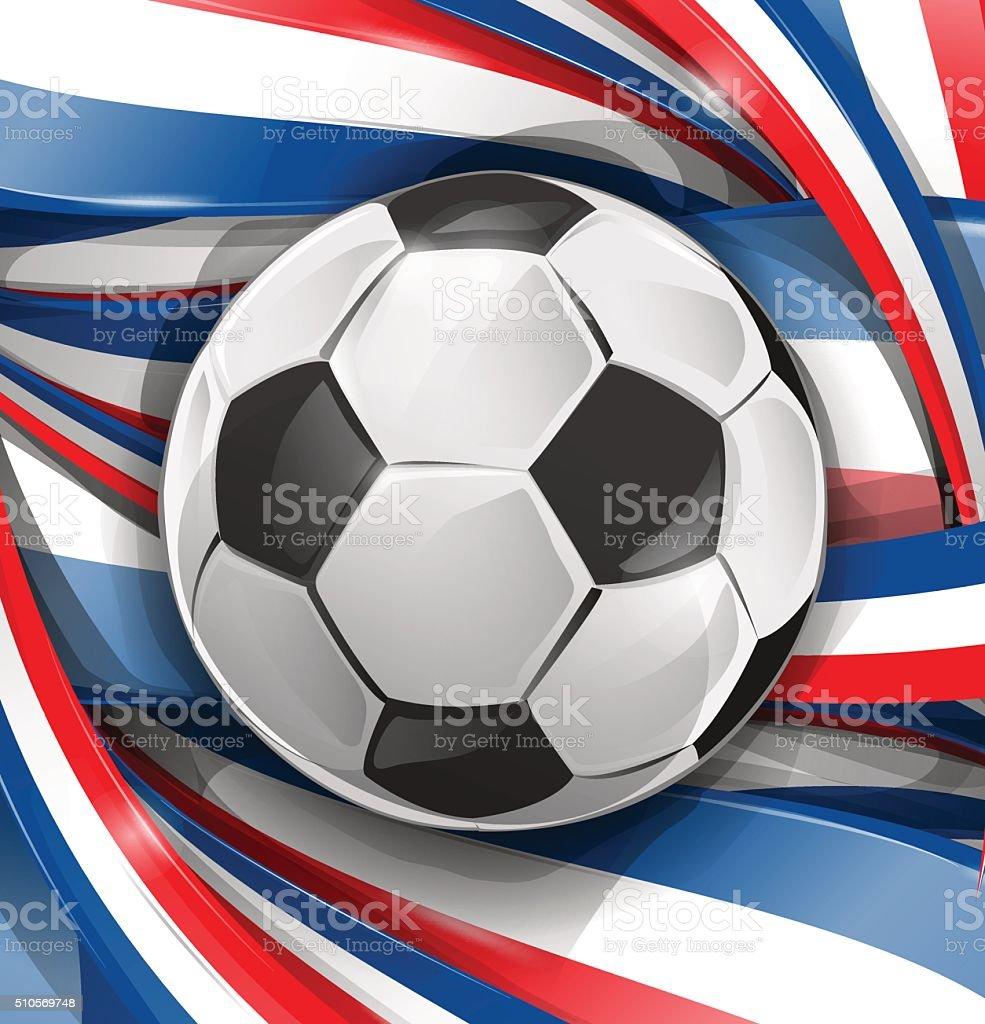 Франция фон с флагом и футбольный мяч Франция фон с флагом и футбольный мяч  — стоковая be5bdd23d75