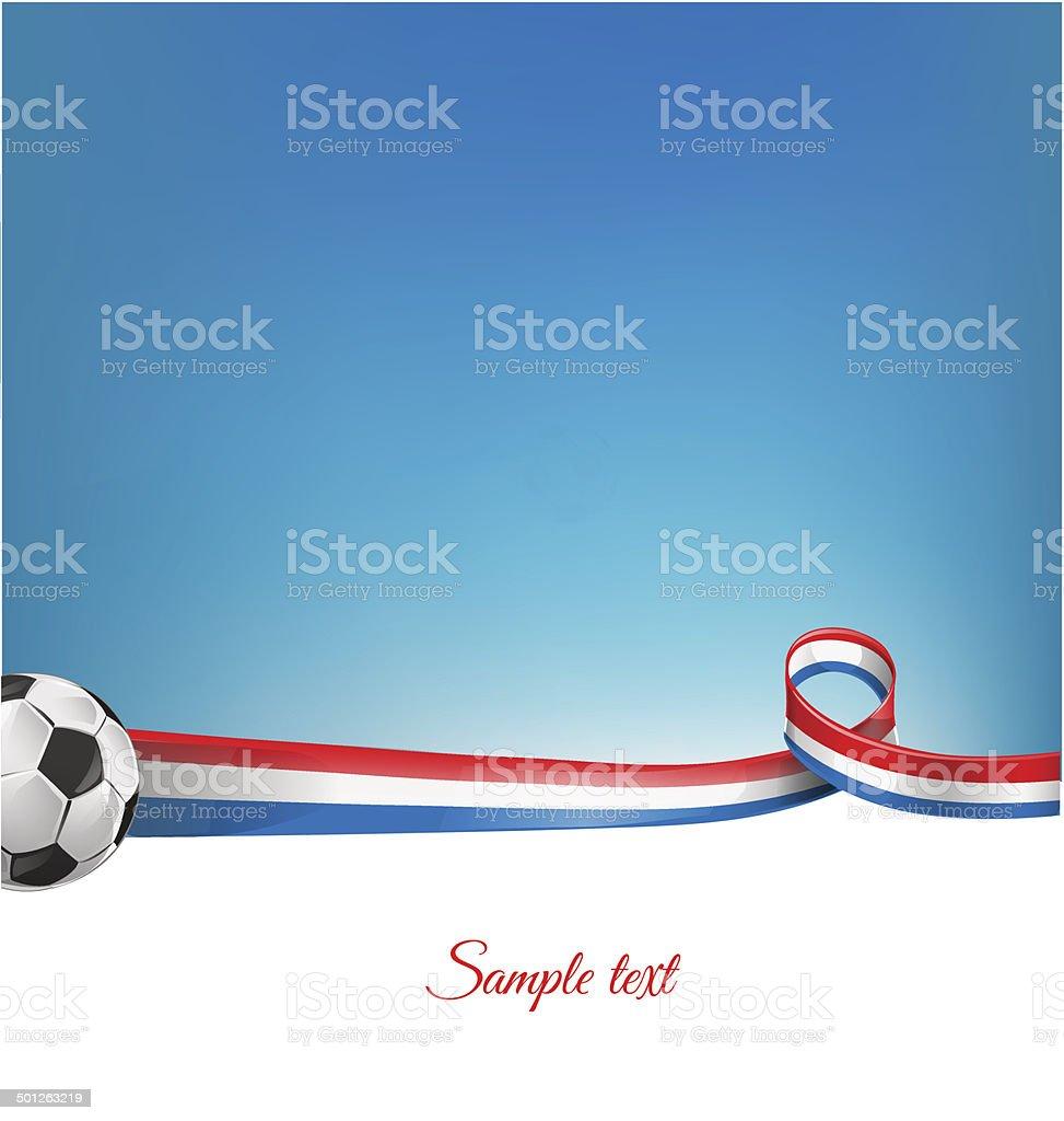Франция фон с Футбольный мяч Франция фон с Футбольный мяч — стоковая  векторная графика и другие 274418bb426