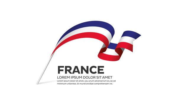 France flag background France, flag, country, vector, icon france stock illustrations