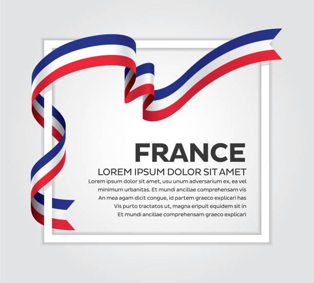ilustrações, clipart, desenhos animados e ícones de fundo de bandeira frança - bandeira da frança