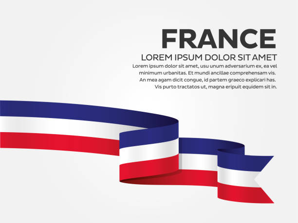 illustrations, cliparts, dessins animés et icônes de fond de drapeau france - france