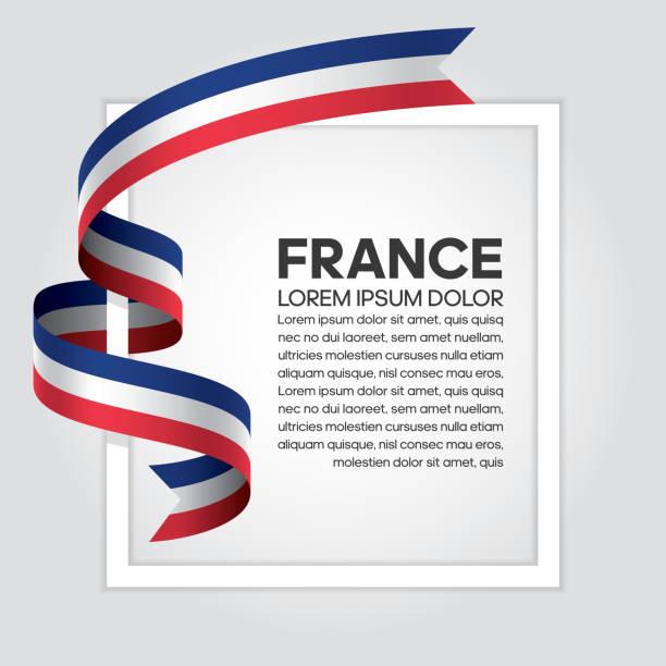 ilustraciones, imágenes clip art, dibujos animados e iconos de stock de fondo de bandera de francia - bandera francesa