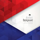 France flag colors abstract background.