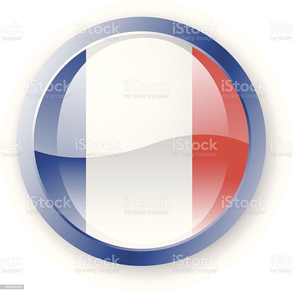 France Flag Icon royalty-free stock vector art