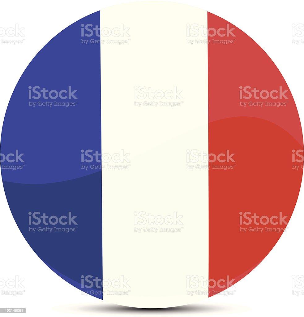 France flag royalty-free stock vector art