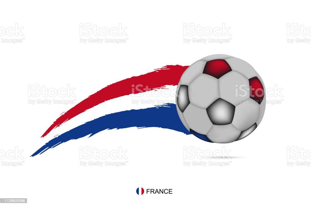 Vetores De Campeonato De Futebol Da França Banner Com 3d