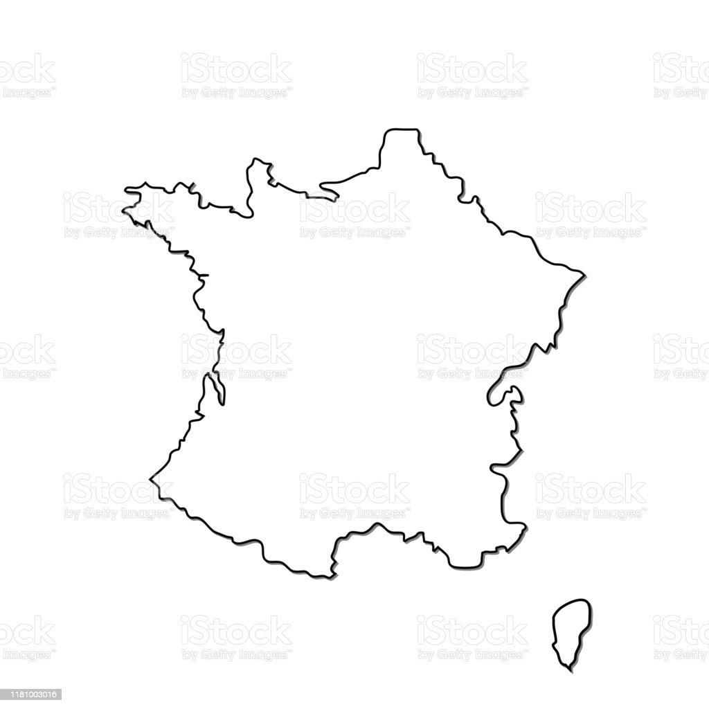 Picture of: France Map Vector Icon Isolated On White Background Outline Map Of France Vector Icon Stock Illustration Download Image Now Istock