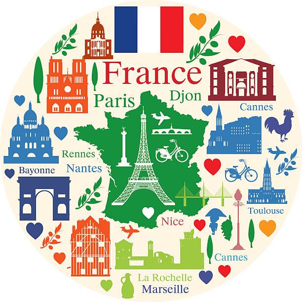 illustrazioni stock, clip art, cartoni animati e icone di tendenza di la francia viaggio - monte bianco