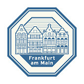 Frankfurt am Main, Germany stamp