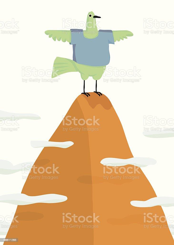 Free Bird - Royalty-free Afgelegen vectorkunst