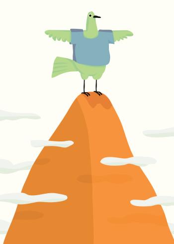 Free Bird Stockvectorkunst en meer beelden van Afgelegen