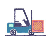 Editable vector icon of free delivery. Designed with flat colors and subtle lines. It's suitable for web, infographic and app designs.