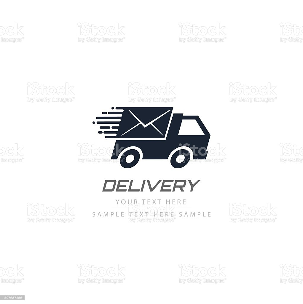 Free delivery vector design vector art illustration