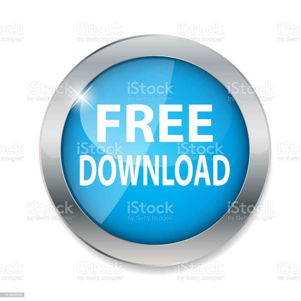 Free download  button vector illustration royalty-free stock vector art