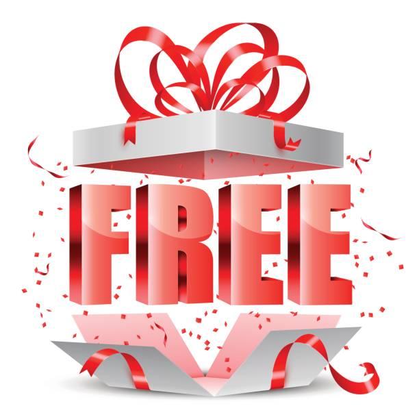 illustrations, cliparts, dessins animés et icônes de boîte cadeau gratuit - gratuit