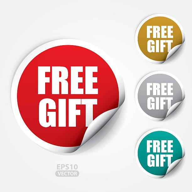 illustrations, cliparts, dessins animés et icônes de ticker et étiquette-cadeau - gratuit