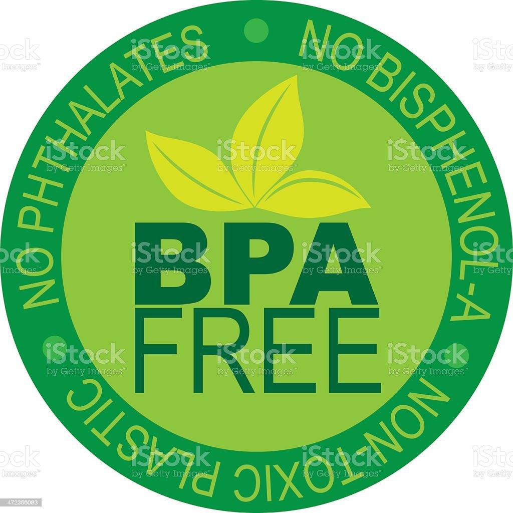BPA Free Label Vector Illustration royalty-free bpa free label vector illustration stock vector art & more images of bisphenol a