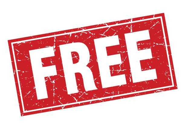 illustrations, cliparts, dessins animés et icônes de timbre de grunge gratuit place rouge sur blanc - gratuit