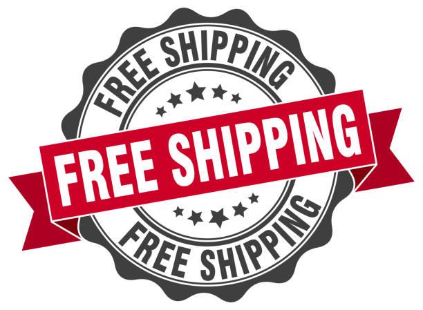 illustrations, cliparts, dessins animés et icônes de livraison gratuite le timbre. signe. joint d'étanchéité - gratuit