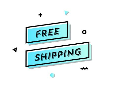 Free Shipping Web Banner