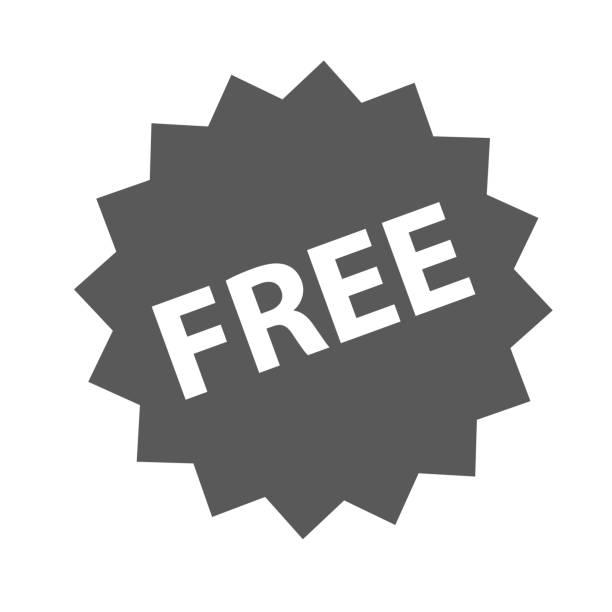 illustrations, cliparts, dessins animés et icônes de vecteur d'icône de signe gratuit simple - liberté