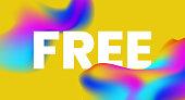 free text background design