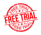 Free trial stamp.