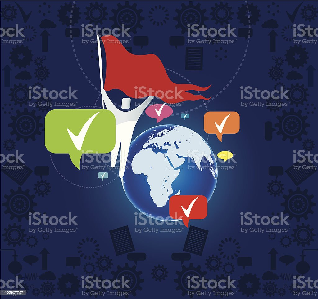 Freedom and the world royalty-free freedom and the world stock vector art & more images of abstract