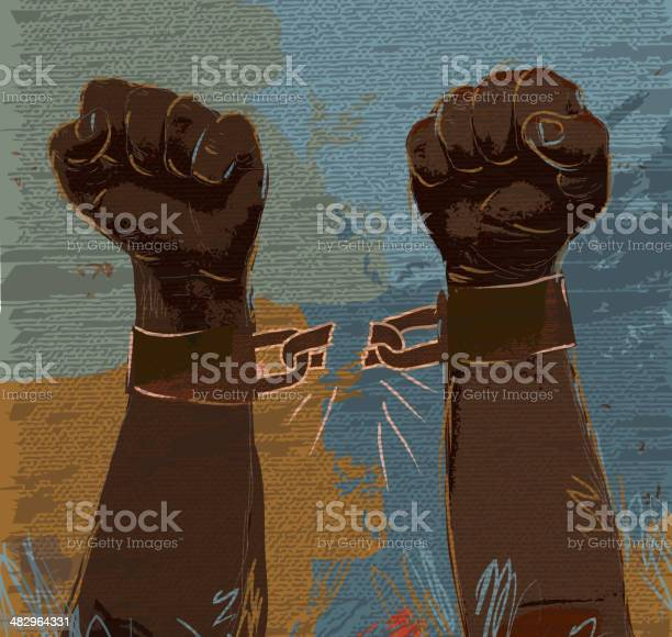 Hands Breaking Chains Png