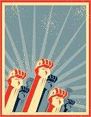 freedom fists