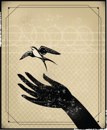 Freedom, Prison or Free Bird Background