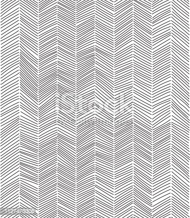 Freehand doodle seamless pattern. EPS10 vector illustration.