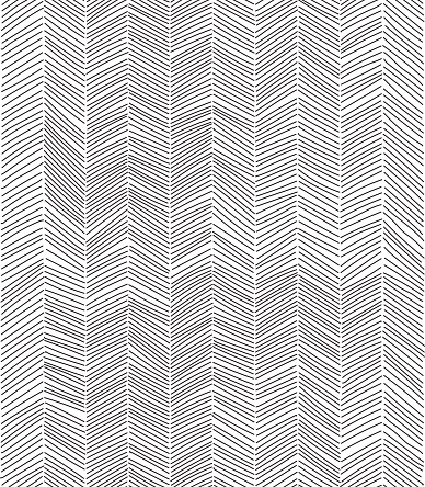 Freehand line pattern