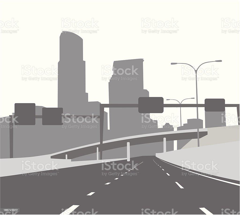 FreewayGantry – Vektorgrafik