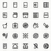 Freezer icons