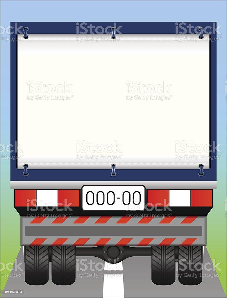Freight transport. vector art illustration