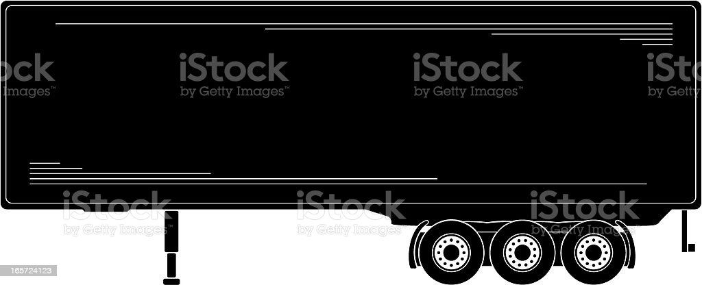 Freight Transportation royalty-free stock vector art
