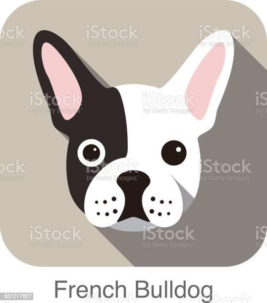 French bulldog face flat icon dog series vector id531277827?b=1&k=6&m=531277827&s=612x612&h=atkmheisv5pjkxuh0wehzplx7tzyzk fspvume0qltc=