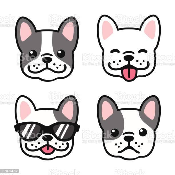 French bulldog face set vector id870974768?b=1&k=6&m=870974768&s=612x612&h=cnfjdnmfuvipza8ap8iqnabn8wbqrbswx6qxe7rnk 0=