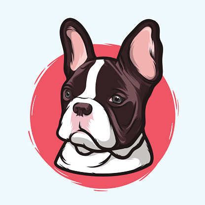 French Bulldog Stock Illustration - Download Image Now