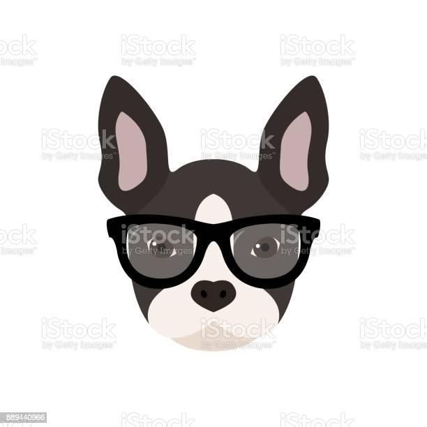 French bulldog with glasses cute vector illustration vector id889440966?b=1&k=6&m=889440966&s=612x612&h=ndbfmnrtgbk3dl0hqfmkkfmcz qnf5ius 5tflt nsi=