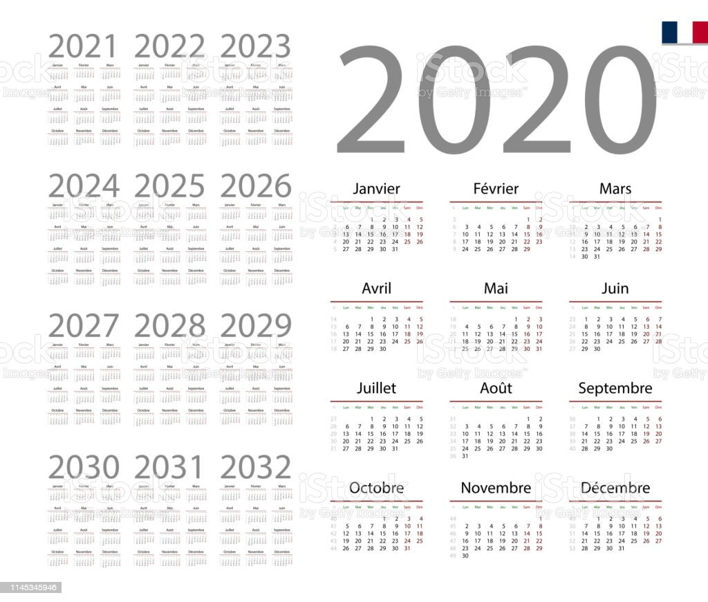 What week is it 2020