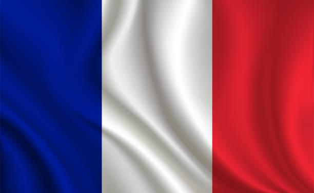 ilustraciones, imágenes clip art, dibujos animados e iconos de stock de fondo de bandera francesa - bandera francesa