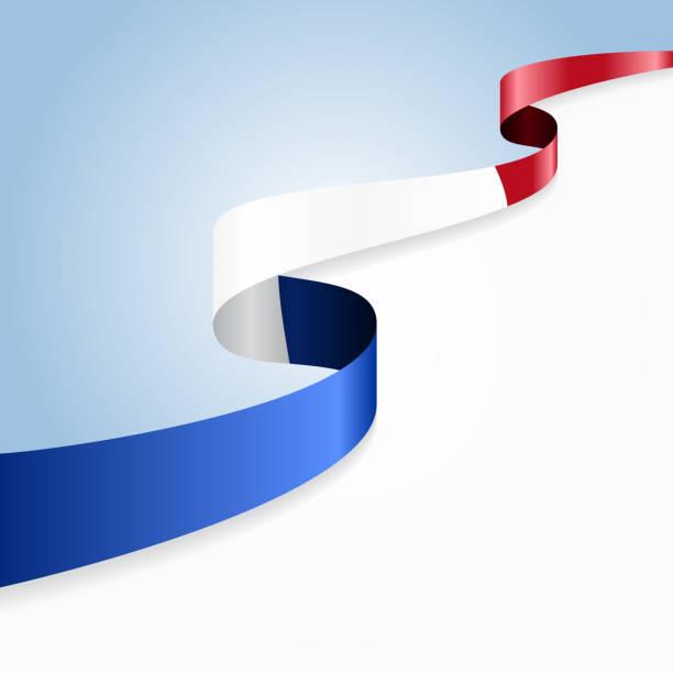ilustrações, clipart, desenhos animados e ícones de bandeira francesa plano de fundo. ilustração vetorial - bandeira da frança